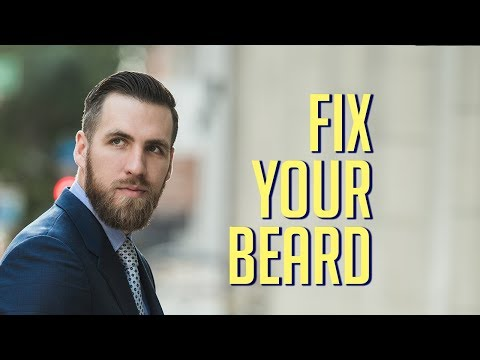 How to Grow a Beard or Fix a Patchy Beard || Men's Grooming 2018 || Gent's Lounge