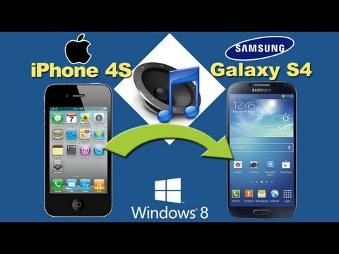 iPhone to Samsung S4 [Music Transfer]: How to Sync Music from iPhone 4S to Samsung S4 with 1-Click