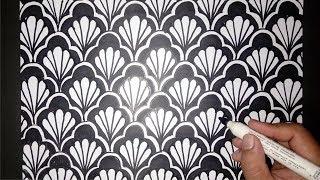 61 Gambar Batik Mudah Digambar Dan Bagus Paling Keren
