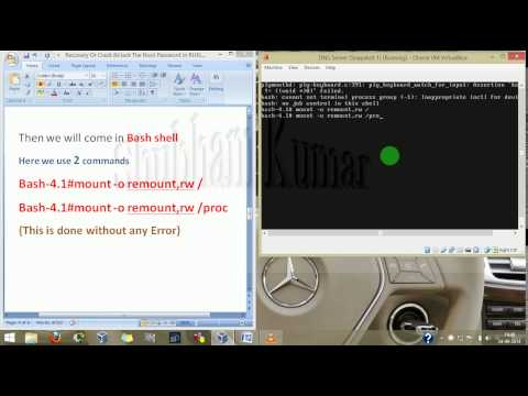 Recovery or Cracking & Hacking Root password in RHEL6