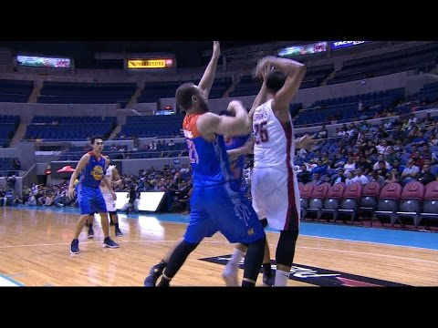 Cervantes with the No Look Pass! | PBA Philippine Cup 2016 - 2017