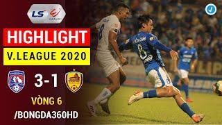Highlight | Than Quảng Ninh 3-1 Quảng Nam | Vòng 6 V.League 2020