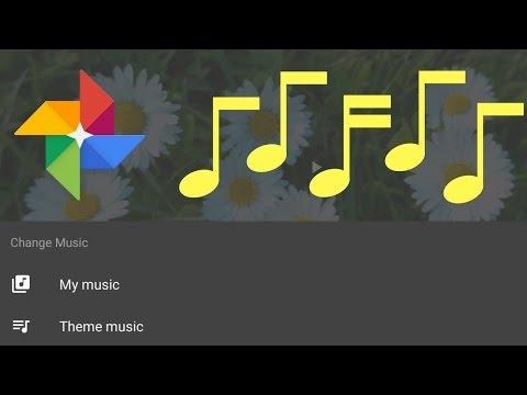 Create a Movie with your own music in Google Photos (Android)