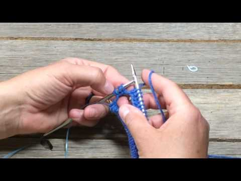Join knitting in the round with circular needles & the Magic Loop Method
