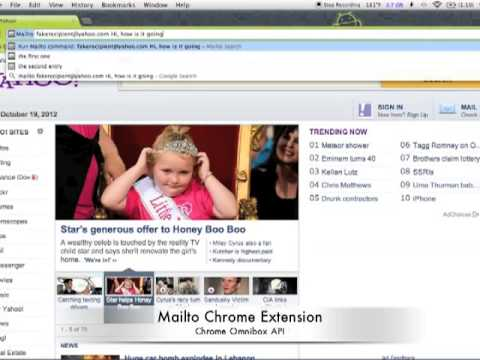Mailto Chrome Extension