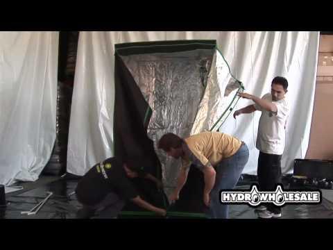 Viagrow™ Hydroponic Grow Room Kit Setup Part 1