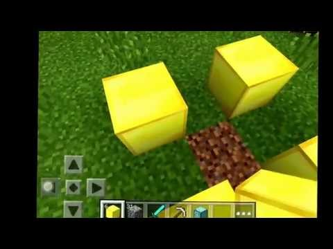 How to make and go to the nether in minecraft pocket edition! Plz like subscribe and comment!