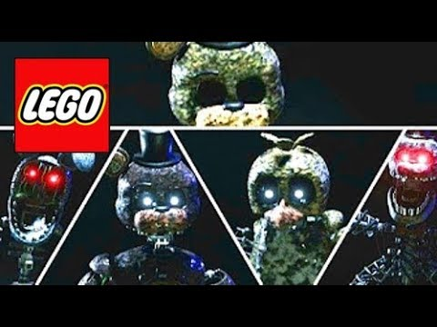 How To Build: LEGO All Animatronics The Joy Of Creation || (Story Mode) Compilation!