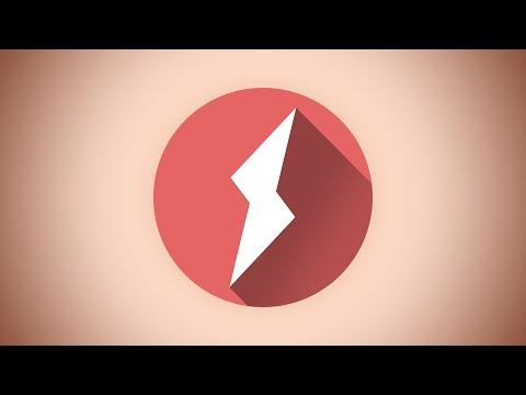 Photoshop Tutorial: Create Long Logo Shadow Effect