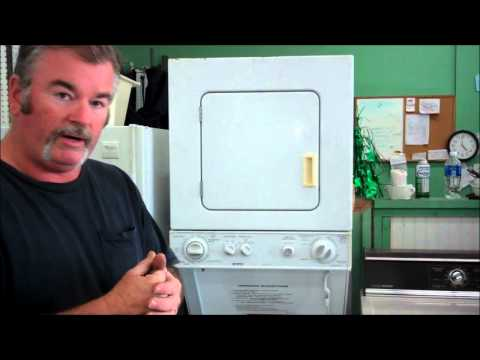 Kenmore Stackable washer and dryer set  ~ it's a space saver