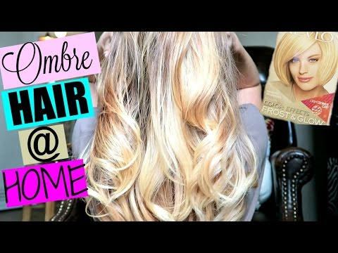DIY: HOW TO OMBRE BALAYAGE HAIR AT HOME