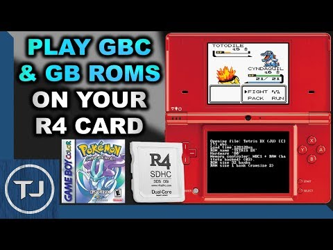 Play GameBoy & GameBoy Color ROM's On R4 Card!