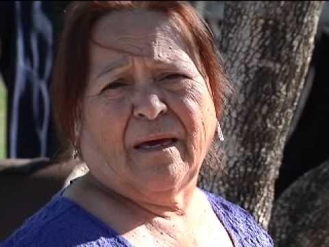 Sewage back up ruining families yard