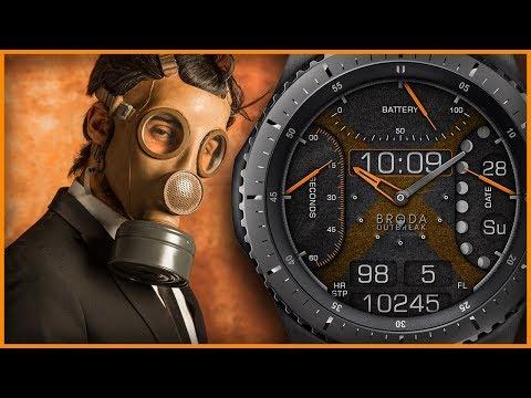 Broda Outbreak for Samsung Gear Sport / Gear S3 / Gear S2