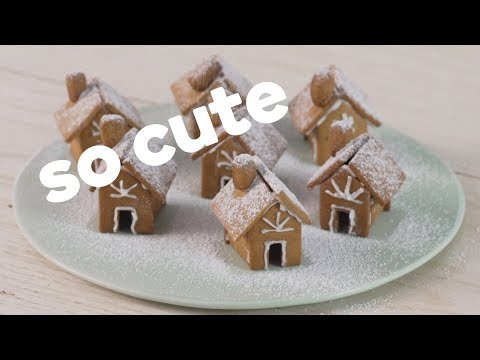 How to build your own gingerbread house