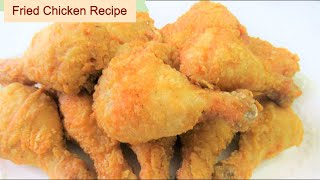 KFC Style Fried Chicken Recipe , Easy Deep Fried Home Made Fried Chicken