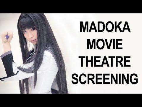 Cosplay Adventures: Madoka Movie Screening!