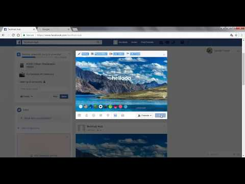 how to add background colour in facebook post