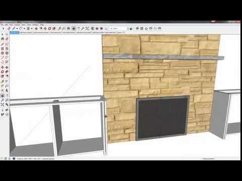 Fireplace Surround Part 2:   Detail Walkthrough