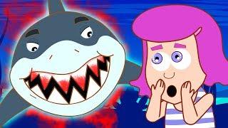 Funny Animals Cartoons Compilations | ANNIE BEN & MANGO: THE GREATEST WHITE SHARK  | HooplaKidz TV