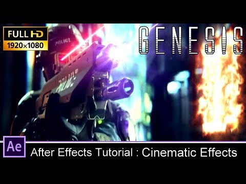 After Effects Tutorials : Laser gun