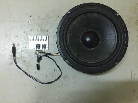 DIY Powerful Amplifier Circuit With Dou Transistor D718