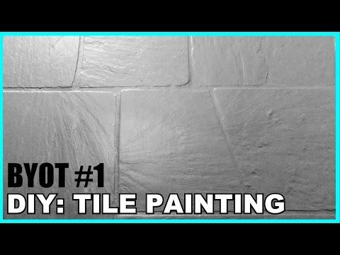 DIY Tile Painting (BYOT #1)