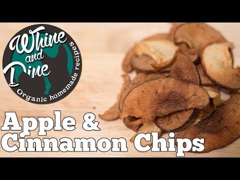 Apple and Cinnamon Snack Treats | Homemade Dog Chips