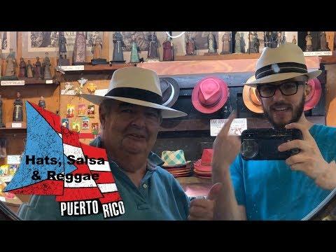 Puerto Rican Hats, Reggae and Salsa. April 30, 2018