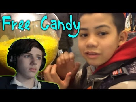 Reacting To... How To Get FREE Candy From A Vending Machine! // Hacking Vending Machines