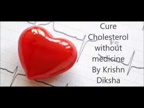 Cure  Cholesterol  without  Medicine  By Krishn  Diksha