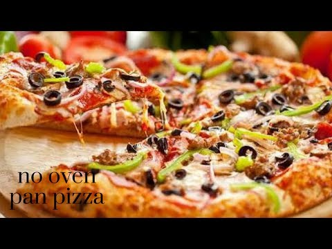 Pizza without Oven| chicken Pizza| Pizza in Kadhai|Homemade Pizza Dough & Sauce in malayalam