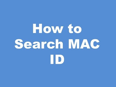 How To Find MAC Address of Personal Computer