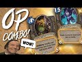 WE DRAFTED A SUPER OP COMBO! - Shaman Arena - Taverns of Time