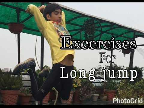 Daily Exercises for Long Jump