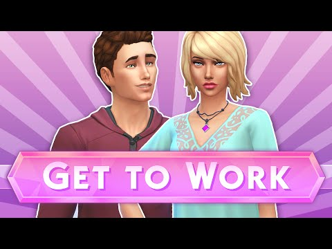 Let's Play The Sims 4: Get To Work   Part 1 - Boutiques ✧˖°