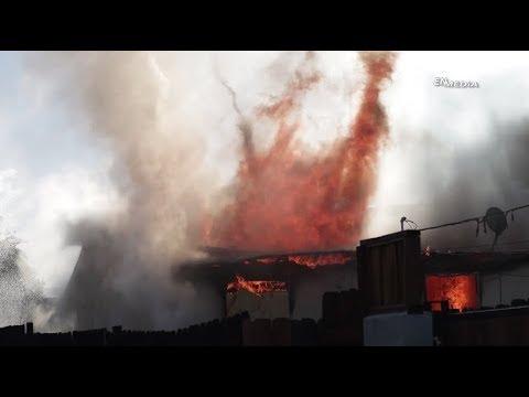 Hemet: Home Burns Down During Early Morning Hours