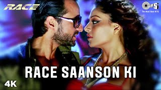 Race Saanson Ki Full Video - Race | Sunidhi Chauhan, Neeraj | Saif Ali Khan, Bipasha Basu | Pritam