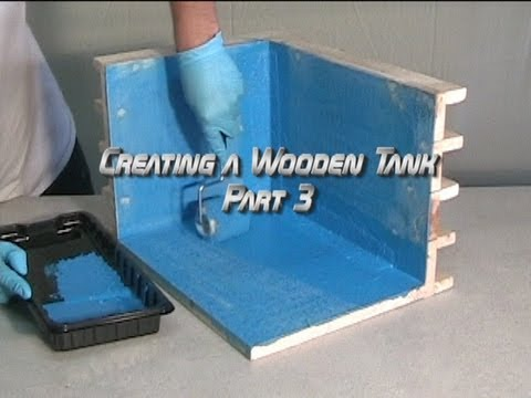Creating a Wooden Tank Part 3
