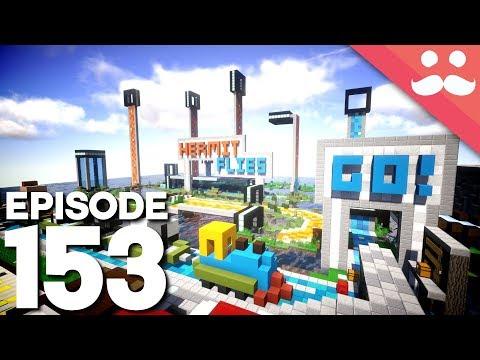Hermitcraft 5: Episode 153 - IT'S FINALLY OPEN!