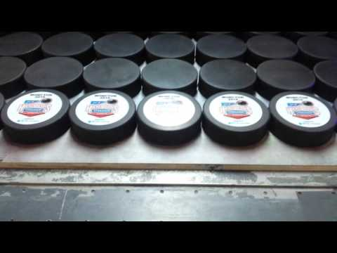 Hockey Pucks Printing