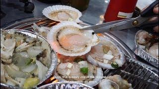 Download FRESH Korean Seafood BBQ FEAST in Busan! 🇰🇷 Video
