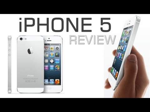 Apple iPhone 5 with iOS6 Review