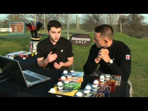 DGTV - Explore The Full Bridgestone Golf Ball Range