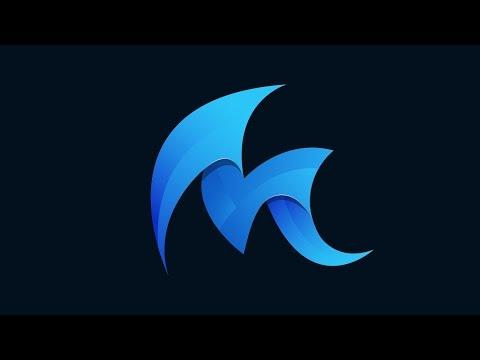 Design Logo Speed Art + Download | Adobe Illustrator