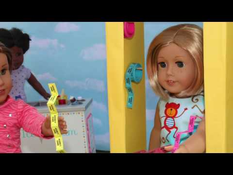 DIY American Girl Doll Ticket Booth