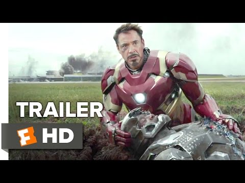 Captain America Civil War Official Trailer 1 2016 - Chris Evans, Scarlett Johansson Movie HD