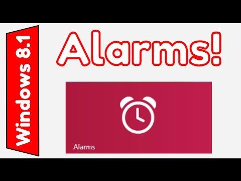 Windows 8.1: Alarms App Overview