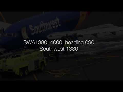 Southwest 1380 (engine failure 4/17/2018) ENTIRE EVENT: actual multi-sector ATC audio