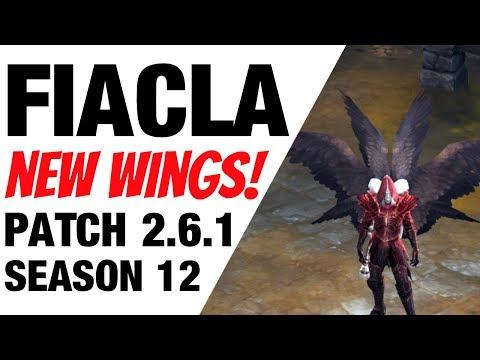 Patch 2.6.1 Fiacla Wings Diablo 3 Season 12